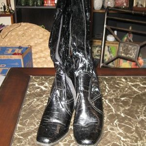 Maurices Knee High Heeled Boots